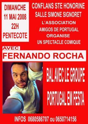 11 Maio - Fernando Rocha em Conflans