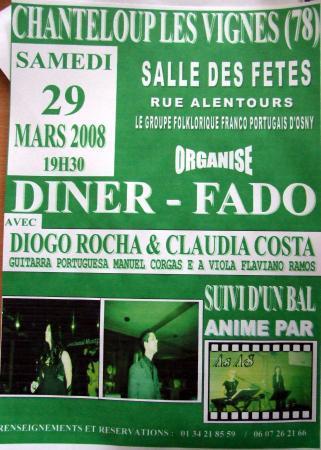 Noite de fado - 29 Mars 2008